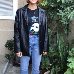 Black Wilsons Leather jaket